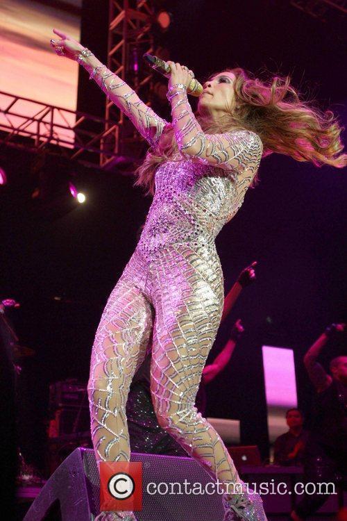 Jennifer Lopez KIIS FM's 2011 Wango Tango Concert...