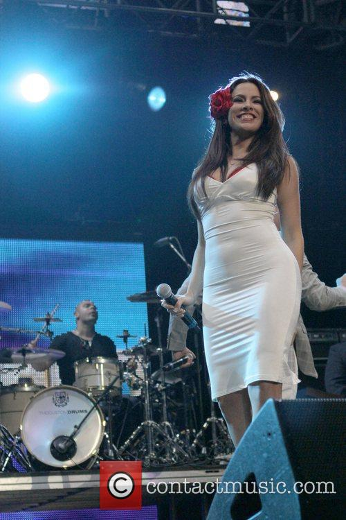 Pitbull performs KIIS FM's 2011 Wango Tango Concert...