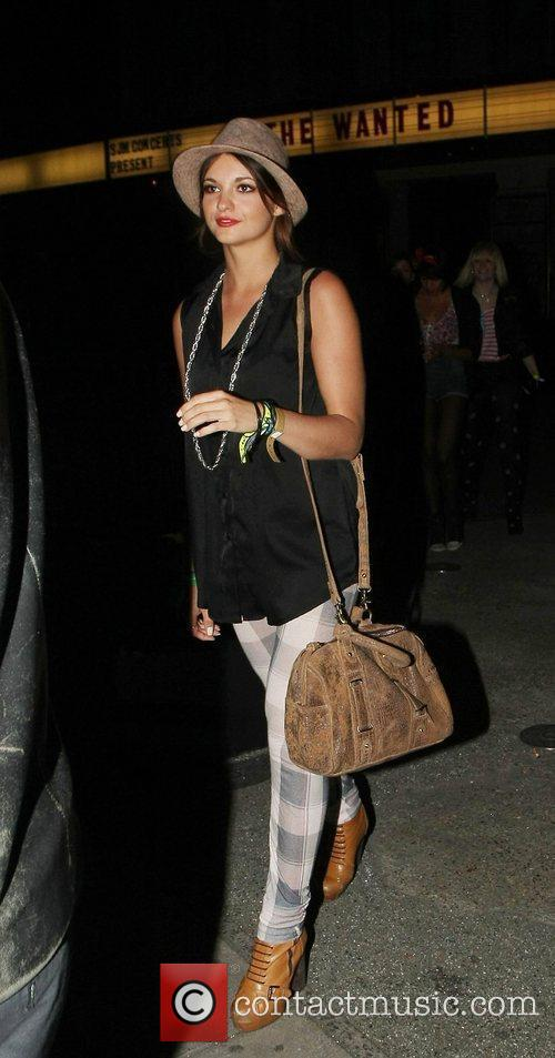 Lauren Deegan of girl band 'Parade' celebrities outside...