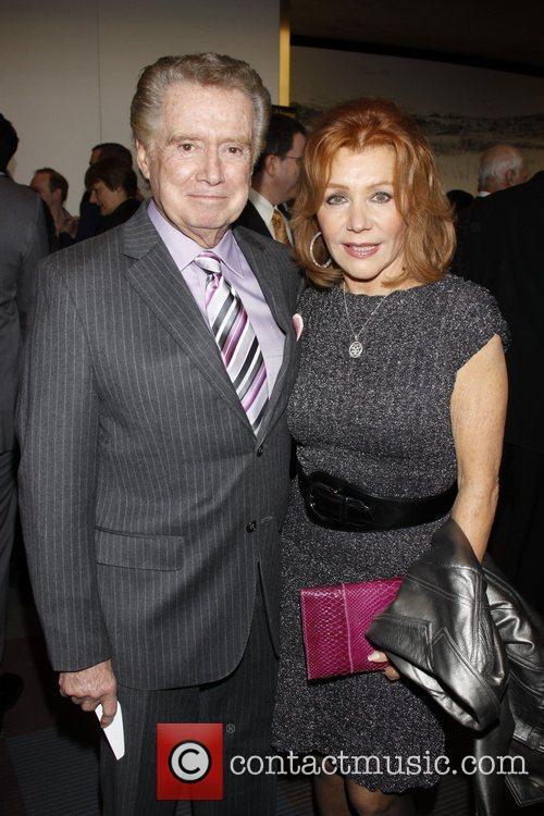 Regis Philbin and Joy Philbin Opening night of...