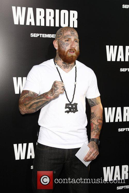 Ron 'RJ' Messenger  Warrior Los Angeles Premiere...