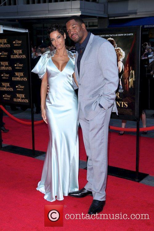 Michael Strahan and Nicole Murphy 10