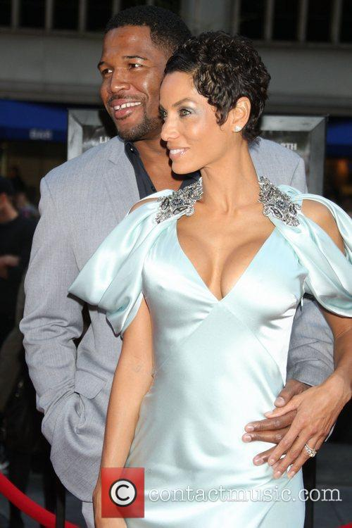 Michael Strahan and Nicole Murphy 9