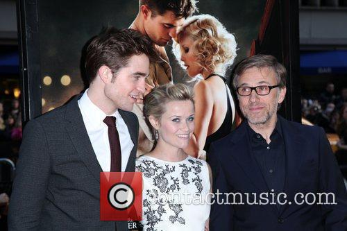 Robert Pattinson, Christoph Waltz and Reese Witherspoon 10