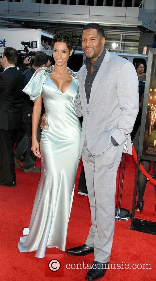 Michael Strahan and Nicole Murphy 2