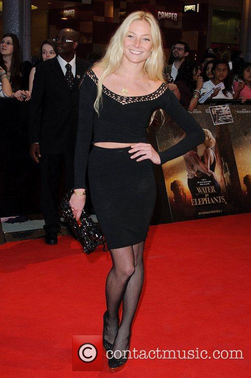 Clara Paget Water for Elephants - UK film...