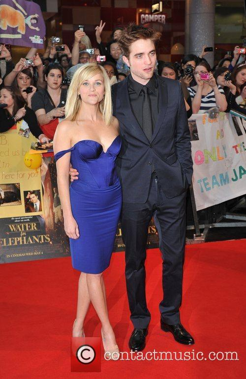 Reese Witherspoon and Robert Pattinson UK film premiere...