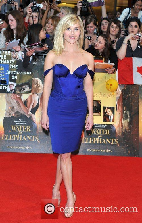 Reese Witherspoon UK film premiere of 'Water for...