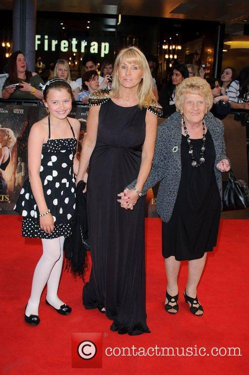 Carol Wright and Nanny Pat Water for Elephants...