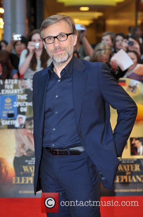 Christoph Waltz UK film premiere of 'Water for...