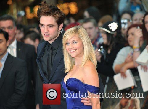 Robert Pattinson and Reese Witherspoon UK film premiere...