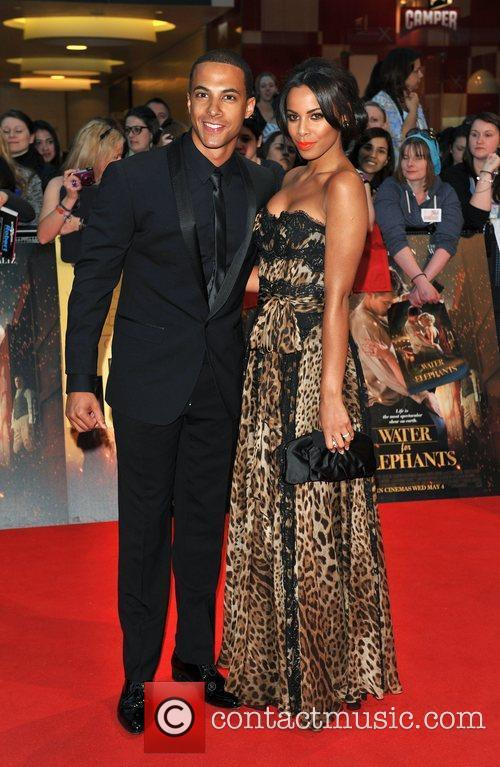 Marvin Humes and Rochelle Wiseman Water for Elephants...