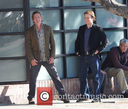 Matt Damon and Thomas Haden Church on the...