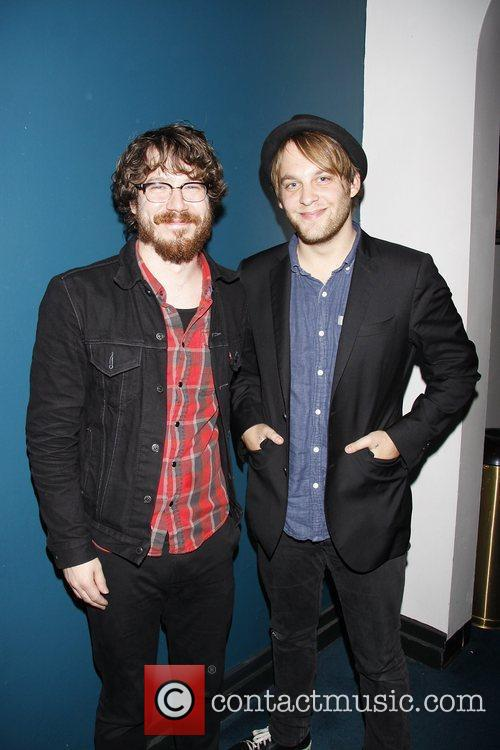 John Gallagher, Jr. and Theo Stockman (both from...