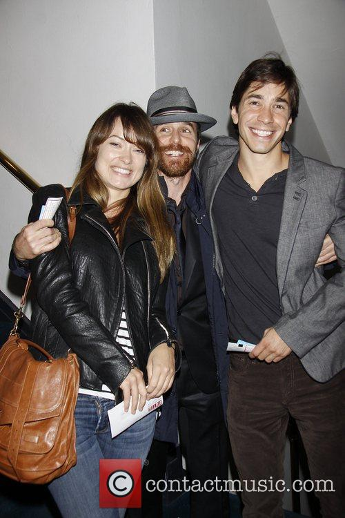 Olivia Wilde, Justin Long and Sam Rockwell 1
