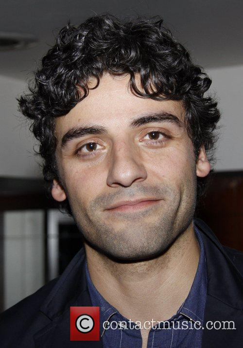 Oscar Isaac  After party for the World...