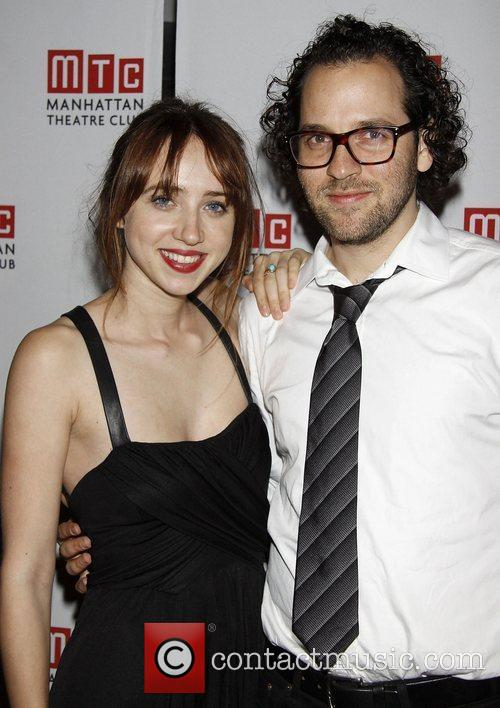 Zoe Kazan and Sam Gold  After party...