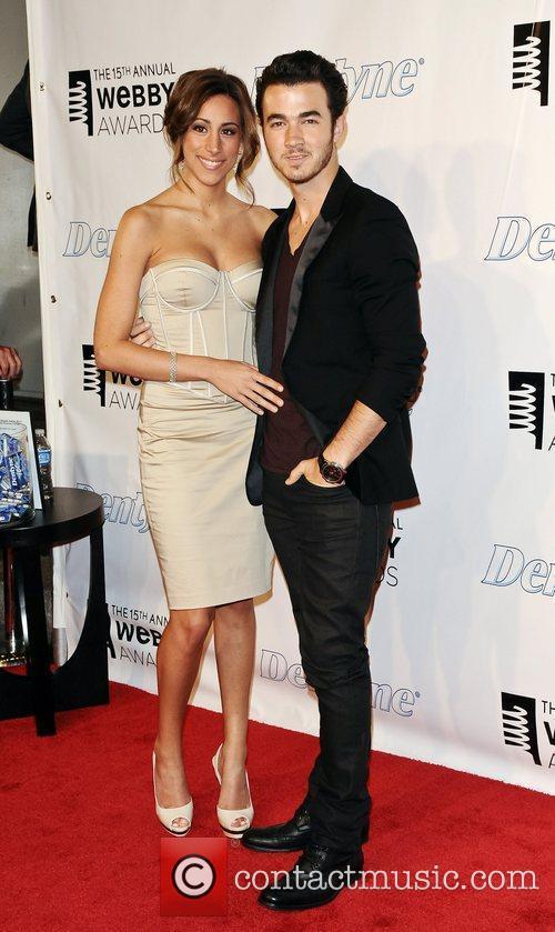 Danielle Deleasa and Kevin Jonas The 15th Annual...
