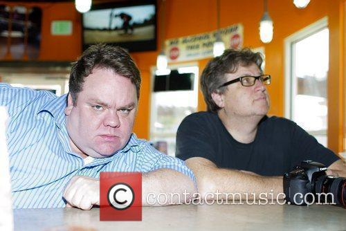 Preston Lacey and Rick Kosick of 'jackass' hang...