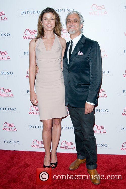 Bridget Moynahan and Ric Pipino Wella Professionals Flagship...