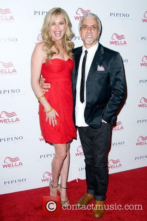 Rebecca Romijn and Ric Pipino Wella Professionals Flagship...