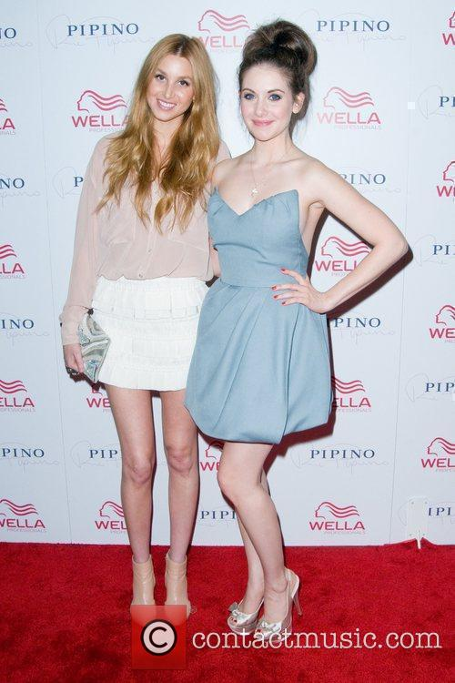 Whitney Port and Alison Brie Wella Professionals Flagship...