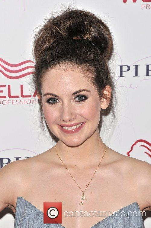 Alison Brie Wella Professionals Flagship Salon Grand Opening...