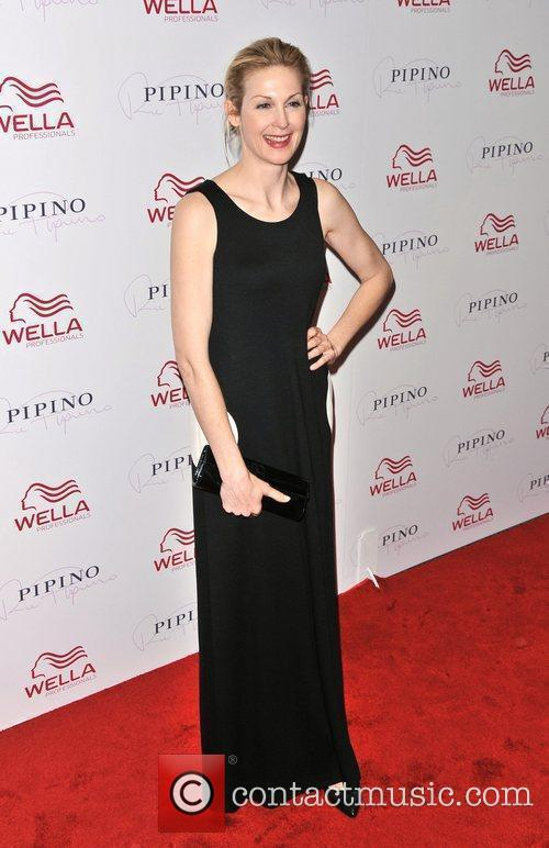 Kelly Rutherford Wella Professionals Flagship Salon Grand Opening...