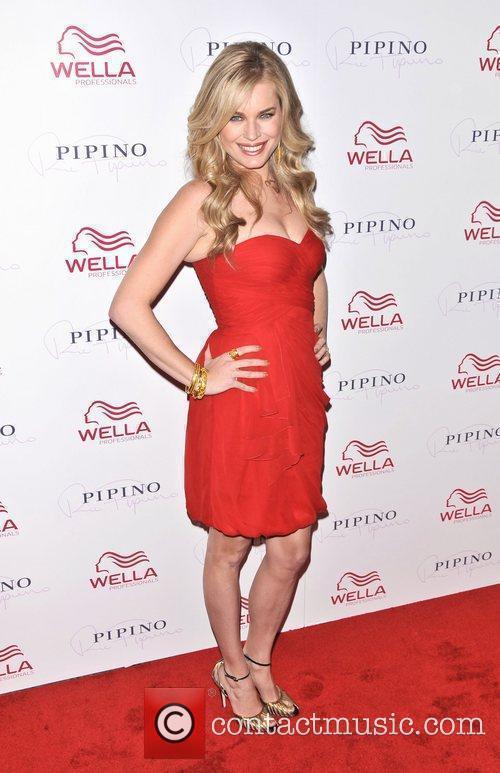 Rebecca Romijn Wella Professionals Flagship Salon Grand Opening...
