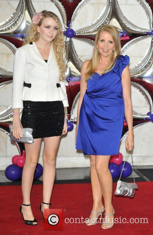Gillian McKeith (R) and guest WellChild Awards held...