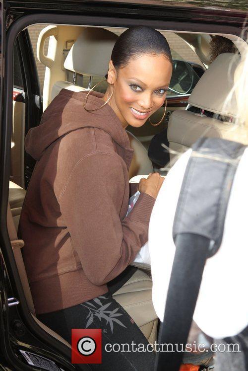 Tyra Banks, Wendy Williams and Fox Studios 7