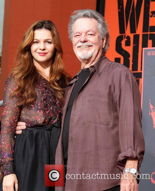 Amber Tamblyn, Russ Tamblyn and Grauman's Chinese Theatre 4