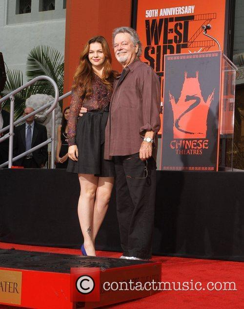 Amber Tamblyn, Russ Tamblyn and Grauman's Chinese Theatre 2