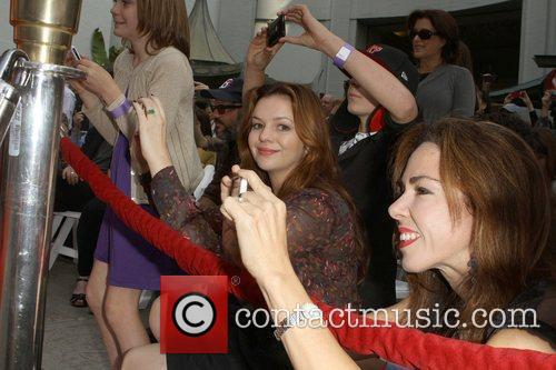 Amber Tamblyn and Grauman's Chinese Theatre 5