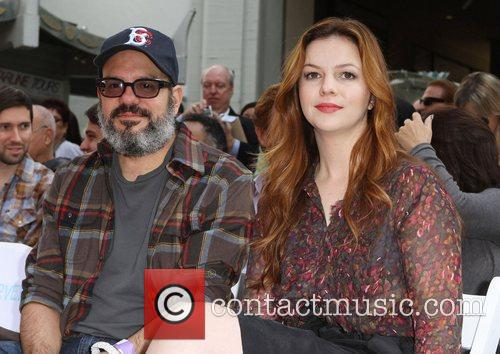 David Cross, Amber Tamblyn and Grauman's Chinese Theatre 3