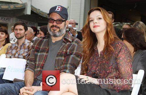 David Cross, Amber Tamblyn and Grauman's Chinese Theatre 4