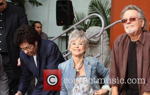 George Chakiris, Rita Moreno, Russ Tamblyn and Grauman's Chinese Theatre 16