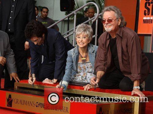 George Chakiris, Rita Moreno, Russ Tamblyn and Grauman's Chinese Theatre 13