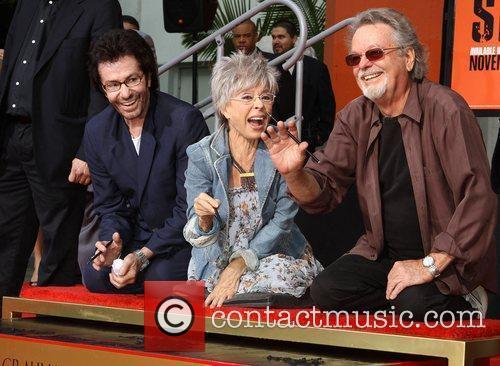George Chakiris, Rita Moreno, Russ Tamblyn and Grauman's Chinese Theatre 12