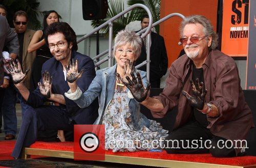 George Chakiris, Rita Moreno, Russ Tamblyn and Grauman's Chinese Theatre 9