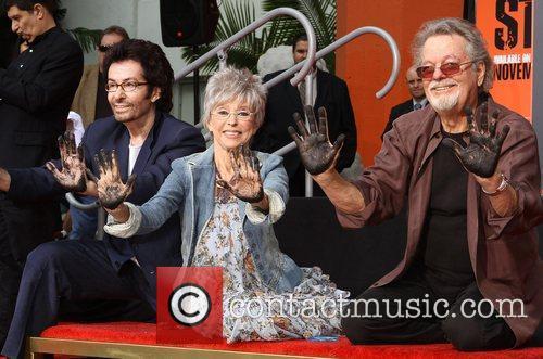 George Chakiris, Rita Moreno, Russ Tamblyn and Grauman's Chinese Theatre 10