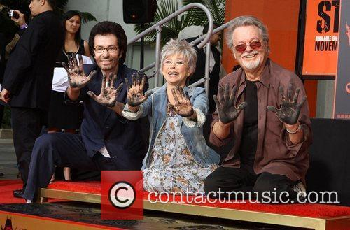 George Chakiris, Rita Moreno, Russ Tamblyn and Grauman's Chinese Theatre 9