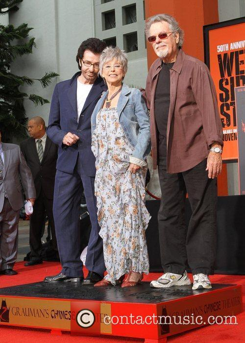 George Chakiris, Rita Moreno, Russ Tamblyn and Grauman's Chinese Theatre 3