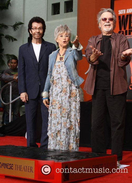 George Chakiris, Rita Moreno, Russ Tamblyn and Grauman's Chinese Theatre 7