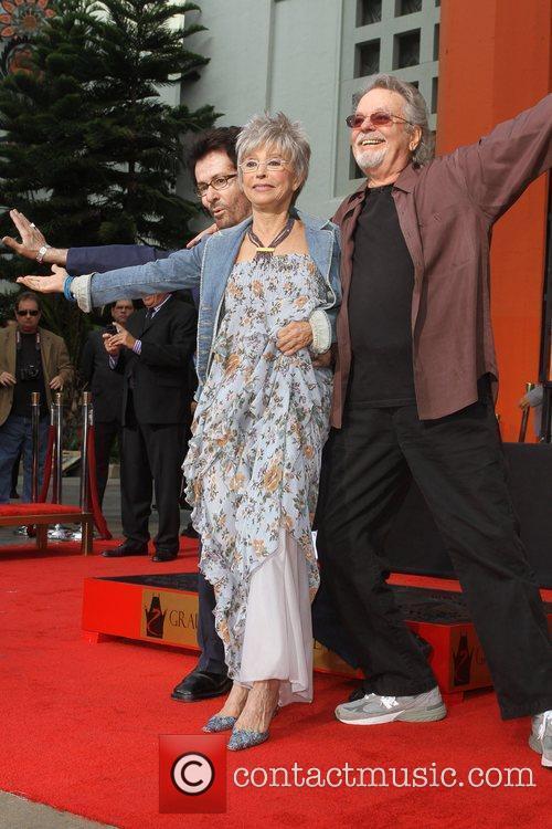 George Chakiris, Rita Moreno, Russ Tamblyn and Grauman's Chinese Theatre 11