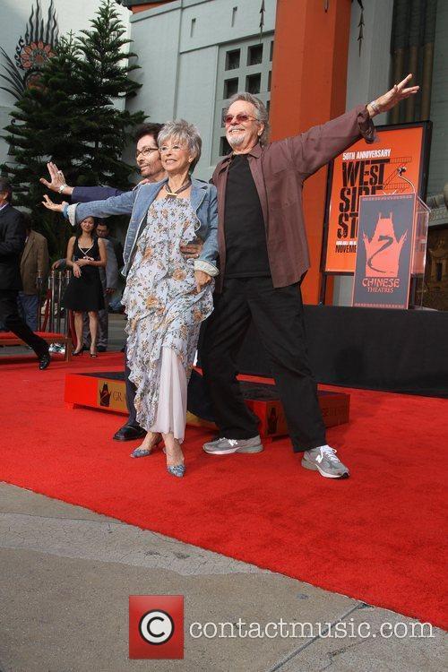 George Chakiris, Rita Moreno, Russ Tamblyn and Grauman's Chinese Theatre 20