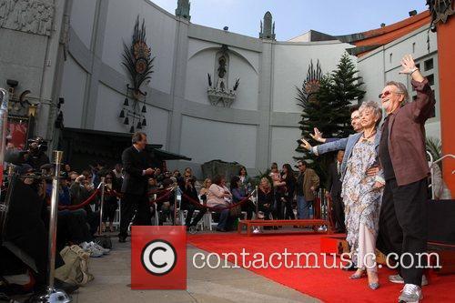 George Chakiris, Rita Moreno, Russ Tamblyn and Grauman's Chinese Theatre 14
