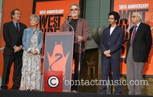 Kenny Ortega, George Chakiris, Rita Moreno, Russ Tamblyn and Grauman's Chinese Theatre 2