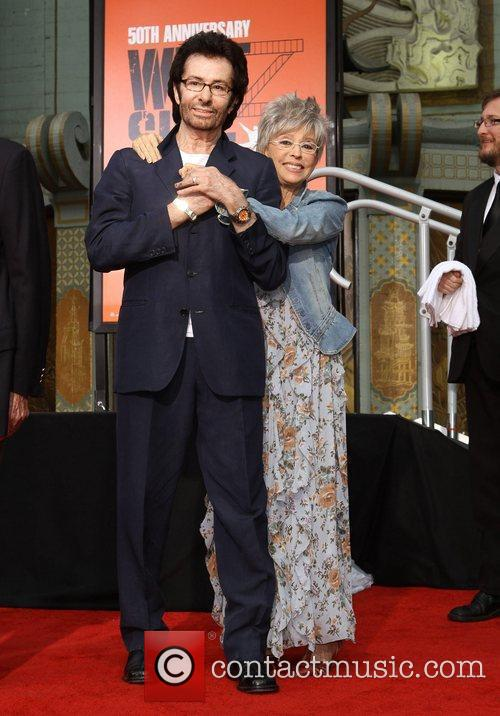 Rita Moreno, George Chakiris and Grauman's Chinese Theatre 3