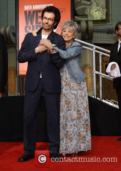 Rita Moreno, George Chakiris and Grauman's Chinese Theatre 7